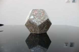 Dodecahedron W Quartz, Shungite, Albalate, Raise Vibrational Level